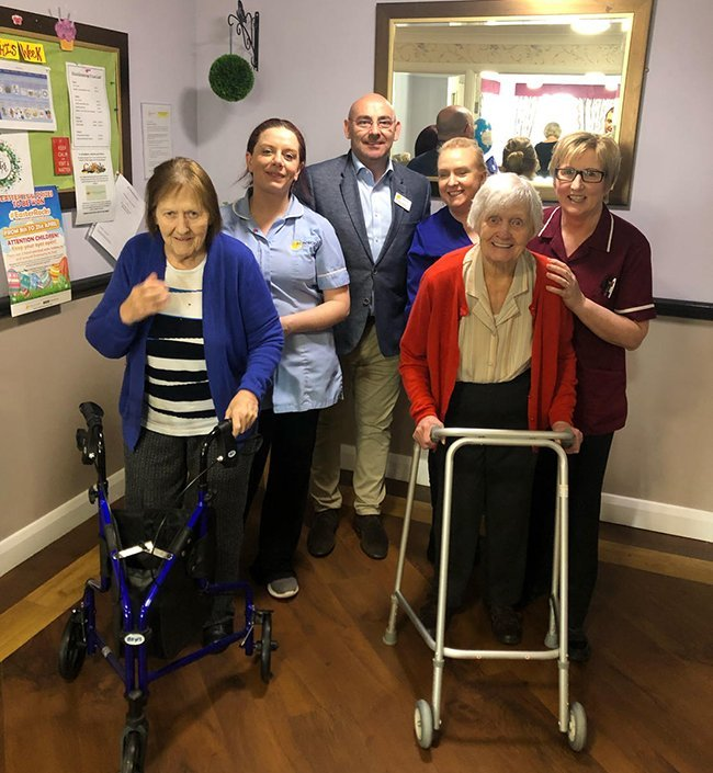 New care unit opens at Dunmurry Manor
